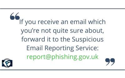 Report suspicious emails to report@phishing.gov.uk- Cashfloat