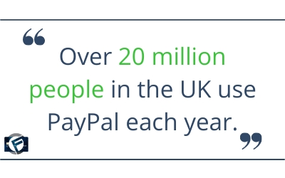 Over 20 million people in the UK use PayPal each year- Cashfloat